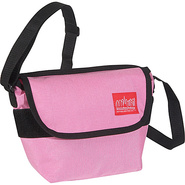 Nylon Messenger Bag (Small) Pink - Manhattan Porta