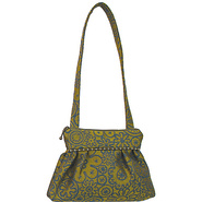 Addie Shoulder Bag Broderie Verde - Maruca Design