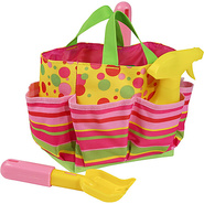 Blossom Bright Tote Set - Pink