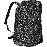 Chaos Duffle Laptop Backpack 18  Black Ballixtix -