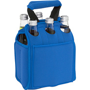 Six Pack Neoprene Tote - Blue
