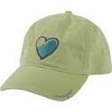 Girl&#39;s Chill Cap Citron Green-M/L - Life is good H