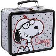 Peanuts Preppy Snoopy Lunchbox Grey/Multicolor - L