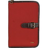 Love  Small/Thinline Book/Bible Cover - Red