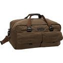 Essex Waxed Twill Weekend Duffel Khaki - Andrew Ma