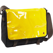 Metropolitan Enamel DJ Bag (M) Yellow - TOKEN Mess