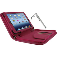 Executive Leather Case w/ Stylus for iPad Mini Mag