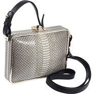 Cadeau Shoulder Bag Shell Snake - Foley + Corinna 