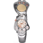 Paw Ladies Watch Light Pink Dial - Tsumori Chisato