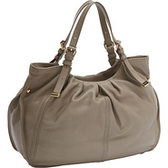Blanca Tote STONE - Perlina Leather Handbags