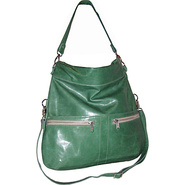 Lauren Crossbody Fold Over Bag Mint Green - Brynn