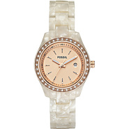 Fossil Ladies Pearlized White Mini Stella with