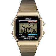 Men&#39;s Digital Watch Goldtone - Timex Watches