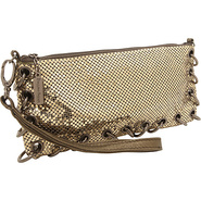 Rings Antique Gold - Whiting and Davis Evening Bag
