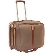 Oxford II 17  Wheeled Computer Bag Tan - London Fo