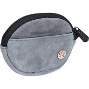Suede Token Coin Purse Grey - TOKEN Ladies Small W