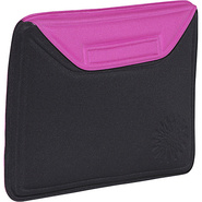 Molded Sleeve for iPad - Sunburst - Black-Pink
