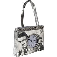 Elvis Totebag With Clock - Tote