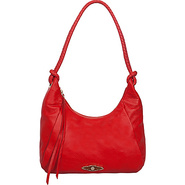 Lucca Hobo Flame - Elliott Lucca Leather Handbags