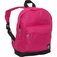 Junior Backpack Hot Pink / Black - Everest School