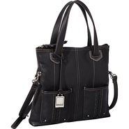 Point of Interest Foldover Crossbody Black - Tigna