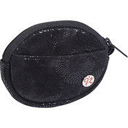 Leather Token Coin Purse Black - TOKEN Ladies Smal