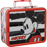 Disney Vintage Mickey Lunchbox Red/Multi - Loungef
