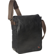 Nassau Waxed File Case Black - TOKEN Men's Bags
