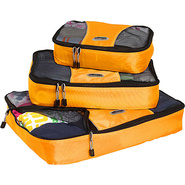 Packing Cubes - 3pc Set - Tangerine