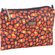 Small Zippered Carry All Arabesque Pebbles - Hadak