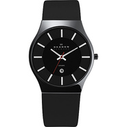 Black Ceramic Men's Watch Black - Skagen Watches