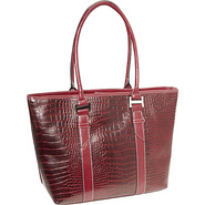 Exotic Lara Laptop Tote Red - Accessory Street Lad