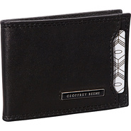 Mead Front Pocket Wallet Black - Geoffrey Beene Me