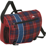 Rufus Laptop Messenger Bag - Flannel Plaid,