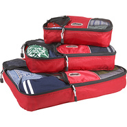 Packing Cubes - 3pc Set - Raspberry