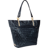 Intreccio Tote Onyx - Elliott Lucca Leather Handba