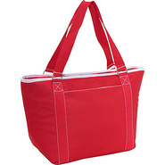 Topanga large insulated shoulder tote - Red
