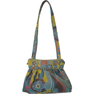 Addie Shoulder Bag Botanic Moss - Maruca Design Fa