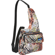 Savannah Sling Jungle Print - Kavu Fabric Handbags