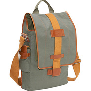 Eco-Friendly Vertical Laptop Messenger - Green