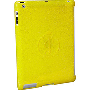 Glitter Gelli iPad 3 Shells Yellow Diamond - Juicy