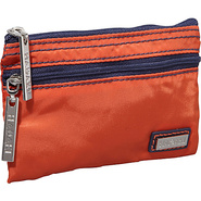 Nylon Jewelry Pouch Orange/Navy - Hadaki Packing A