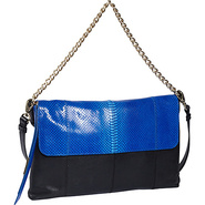 Nimble Shoulder Bag Blue Snake Combo - Foley + Cor