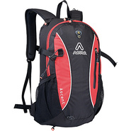 Ascent Daypack - Black/Crimson