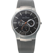 Titanium Grey Multifunction Watch Grey - Skagen Wa
