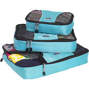 Packing Cubes - 3pc Set - Aquamarine