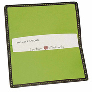 Business Card Case-Metro Collection Black/Key Lime