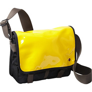 Metropolitan Enamel DJ Bag (S) Yellow - TOKEN Men'