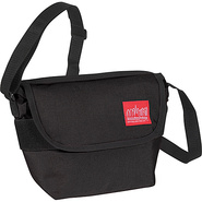 Nylon Messenger Bag (Small) - Black