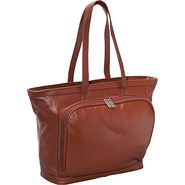 Cosmopolitan Leather Tote - Brown